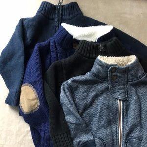 4 winter sweaters